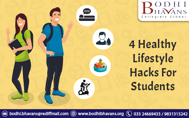 4 Healthy Lifestyle Hacks For Students