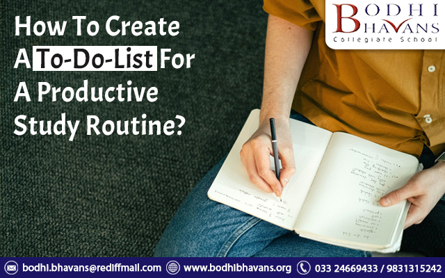 How To Create A To-Do-List For A Productive Study Routine