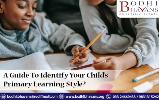 A Guide To Identify Your Child's Primary Learning Style