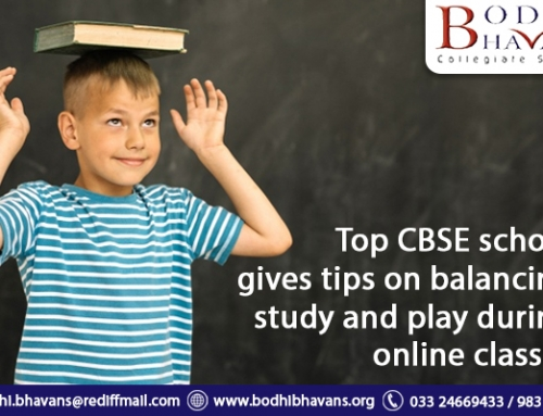 Top Cbse School Gives Tips on Balancing Study and Play During Online Classes