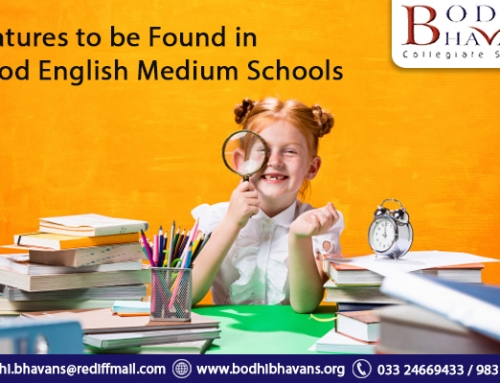Features to be found in good English medium schools