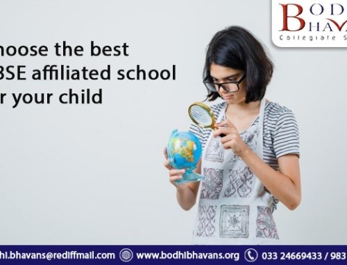 Choose the best CBSE affiliated school for your child